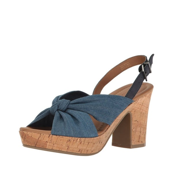 Kenneth Cole Reaction Tole Booth Ankle Strap Sandals Blue - 11 b(m)