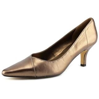 Bella Vita Wow N/S Pointed Toe Leather Heels
