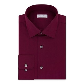 Calvin Klein Mens Button-Down Shirt Classic Fit Non-Iron