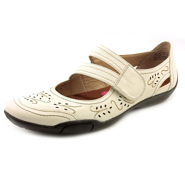 Ros Hommerson Chelsea Womens Winter White Flats
