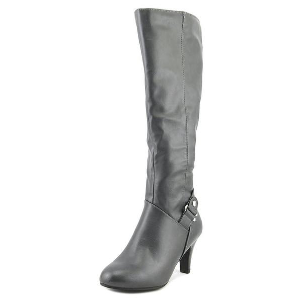 Karen Scott Harloww Wide Calf Women Round Toe Synthetic Knee High Boot
