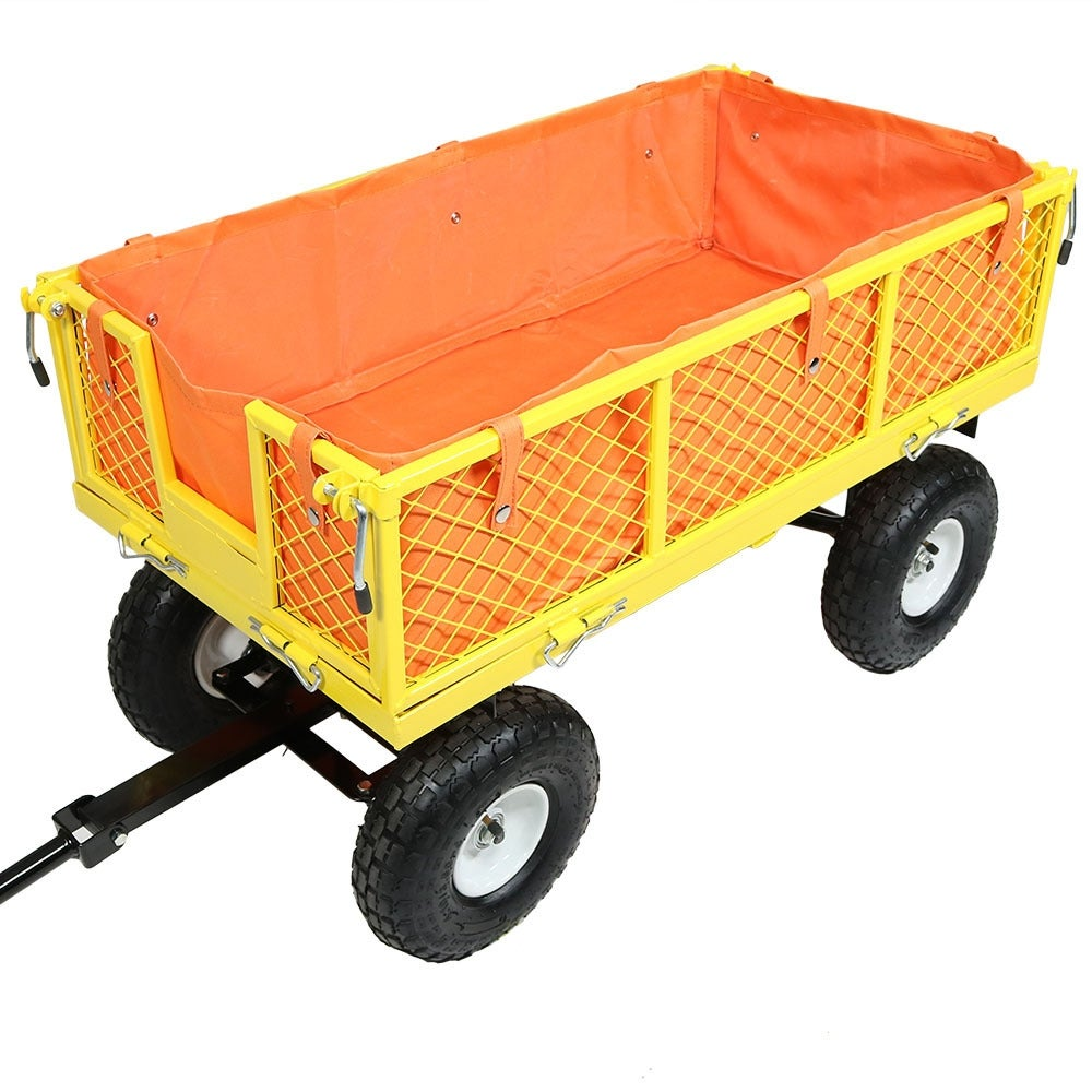 Sunnydaze Garden/Utility Cart Liner - Includes Cart Liner ONLY - Multiple Colors Available - Thumbnail 12
