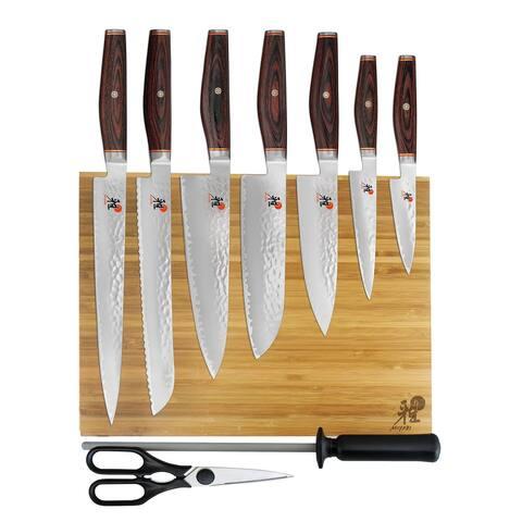 Miyabi Artisan 10-pc Knife Block Set - Stainless Steel