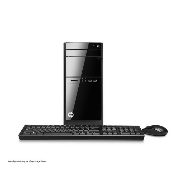 Refurbished - HP 110-406 Desktop PC Intel J2900 2.41GHz 4GB DDR3 500GB HDD Windows 8.1 Pro