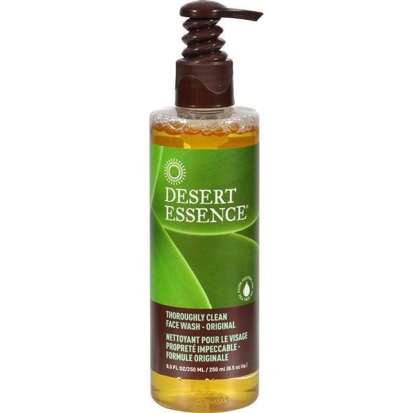 desert essence face wash review desert essence face wash