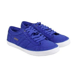 Gola Gola Comet Mens Blue Canvas Lace Up Sneakers Shoes