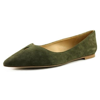 Sam Edelman Ruby Women  Pointed Toe Suede Green Flats