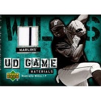 Signed Willis Dontrelle Florida Marlins Dontrelle Willis 2006 Upper Deck Game Materials Unsigned Ba