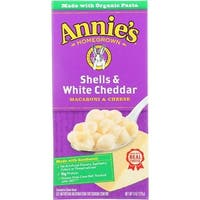 Annie's Homegrown - Shells & White Cheddar ( 12 - 6 OZ)