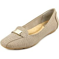 Giani Bernini Jileese Women  Round Toe Synthetic Brown Flats