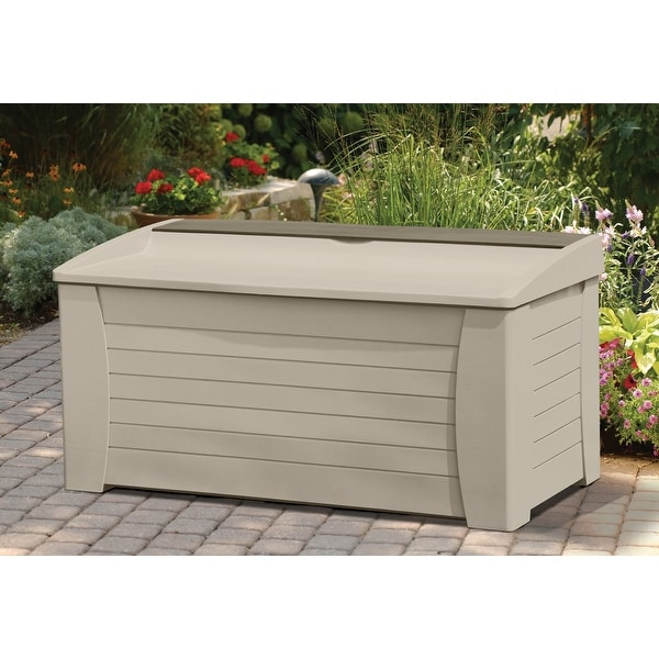 Shop Suncast Deck Box, Extra Large, 127 Gallon Capacity   Free Shipping  Today   Overstock   26960650