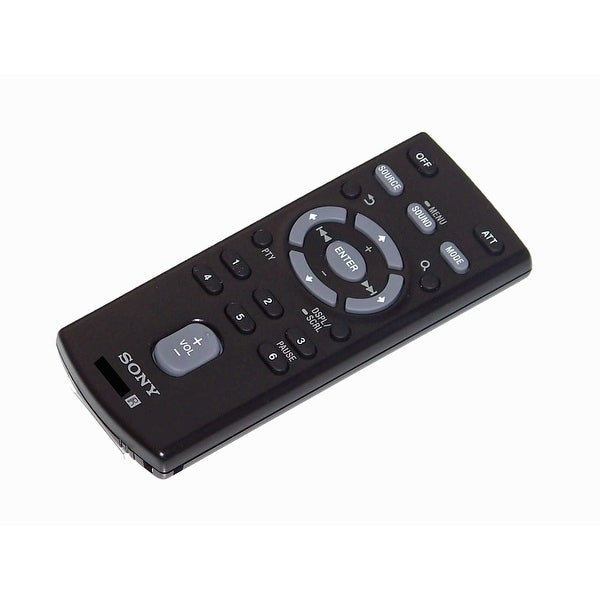 OEM Sony Remote Control Originally Shipped With: DSXA40UI, DSX-A40UI, CDXGT56UIW, CDX-GT56UIW, CDXGT57UP, CDX-GT57UP