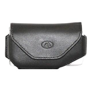 Milante Abruzzi Universal Leather Horizontal Case - Black