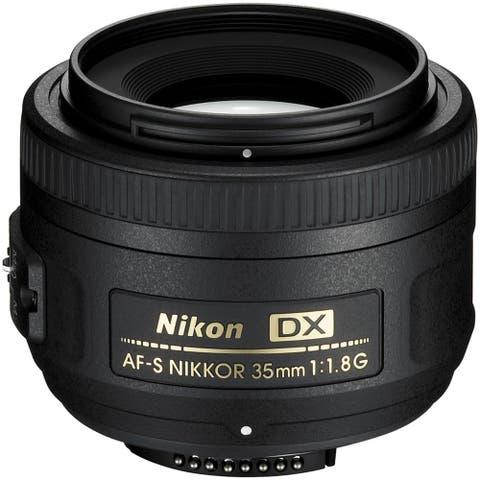Nikon AF-S DX NIKKOR 35mm f/1.8G Lens (Open Box)