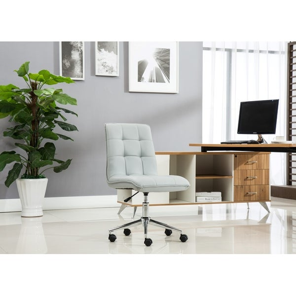 Porthos Home Leona Adjustable Steel and Faux Leather Office Chair. Opens flyout.