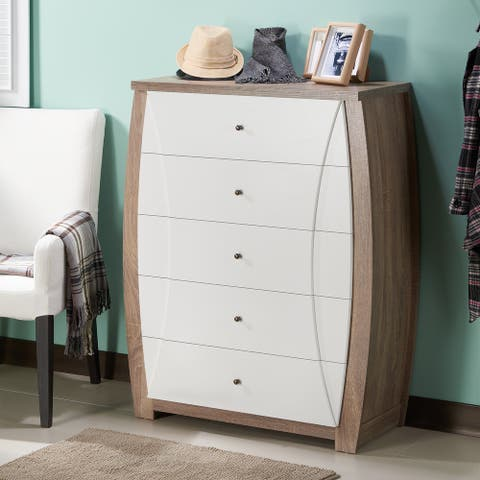 Furniture of America Kish Contemporary 5-drawer Vertical Chest