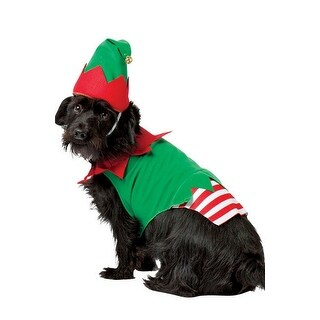 Rasta Imposta Elf Dog Costume