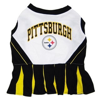 NFL Pittsburgh Steelers Cheerleader Dress For Dogs And Cats