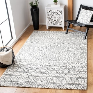 Link to Safavieh Handmade Aspen Atje Moroccan Boho Wool Rug Similar Items in Casual Rugs