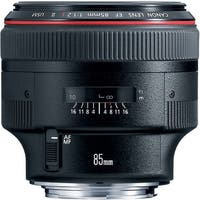 Canon EF 85mm f/1.2L II USM Lens (International Model)