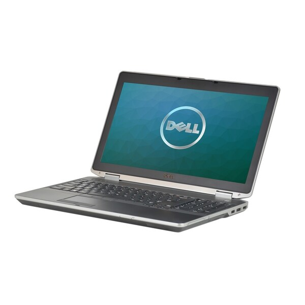 Dell Latitude E6530 Intel Core i7-3520M 2.9GHz 3rd Gen CPU 8GB RAM 128GB SSD Windows 10 Pro 15.6-inch Laptop (Refurbished)