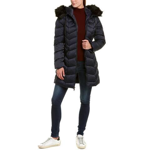 Tahari Long Down Coat