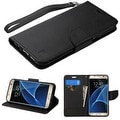 Insten Stand Folio Flip Leather Wallet Flap Pouch Case Cover For Samsung Galaxy S7 Edge - Thumbnail 0