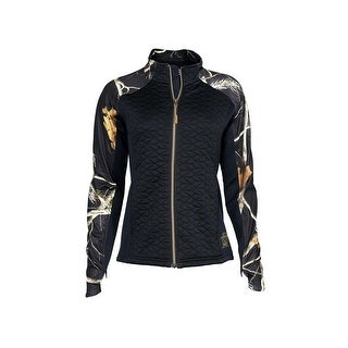 Rocky Outdoor Jacket Womens Zip Functional Quilt-Knit