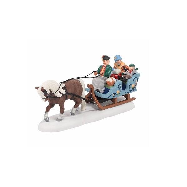 "Department 56 Alpine Village ""Alpine Sleigh Ride"" Christmas Accessory #4036488"