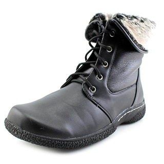 Wanderlust Danette Round Toe Leather Winter Boot