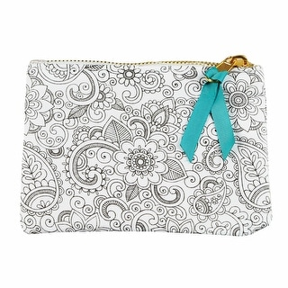 Color Your Own Pouch Kit - Tropic - White