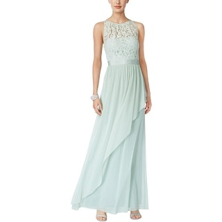 Adrianna Papell Womens Evening Dress Formal Lace