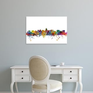 Easy Art Prints Michael Tompsett's 'Madison Wisconsin Skyline' Premium Canvas Art