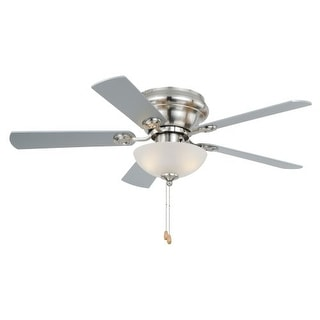 "Vaxcel Lighting F0023 Expo 42"" 5 Blade Indoor Ceiling Fan - Fan Blades and Light Kit Included"