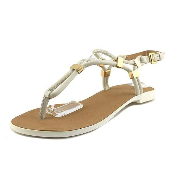 Ivanka Trump Ashanti Women Open-Toe Leather Multi Color Slingback Sandal