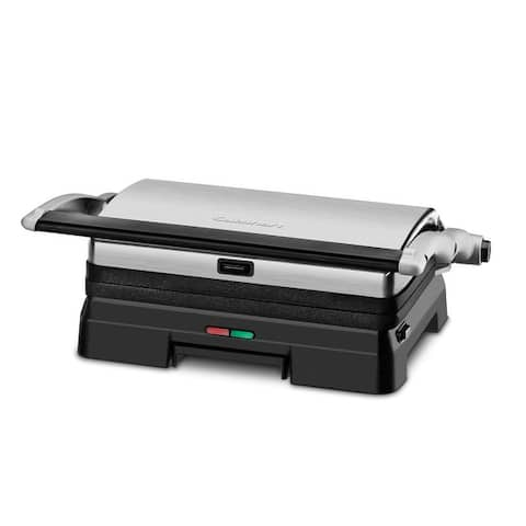 Cuisinart GR-11P1 Griddler Grill & Panini Press - 10 1/4 in. x 6 1/2 in.