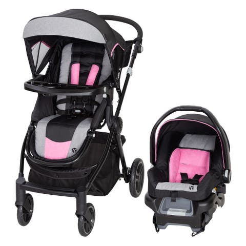 Baby Trend City Clicker Pro Travel System,Soho Pink - Single Stroller