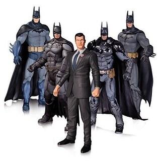 DC Collectibles Arkham Batman ACTION FIGURE SET, 5 Batman Action FIGURES PACK