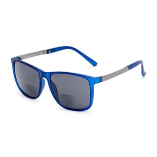Readers.com The Kearney Bifocal Reading Sunglasses Square Reading Glasses