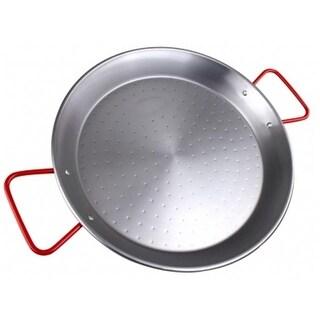 Magefesa 01PAPAEPU34 13.5 in. Carbon Steel Paella Pan - 6 Servings