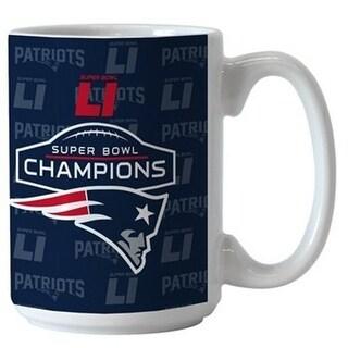 New England Patriots Super Bowl LI Champions 15oz Coffee Mug