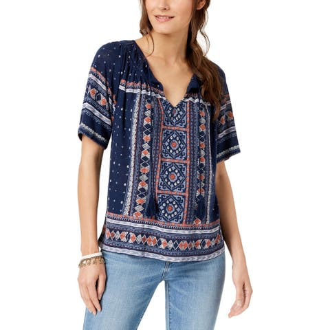 f43eefc24a7cf3 Lucky Brand Tops | Find Great Women's Clothing Deals Shopping at ...