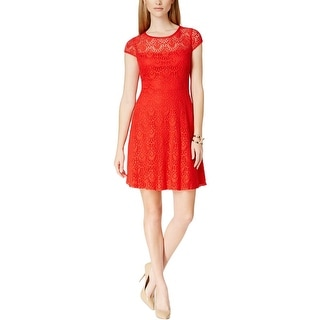 Jessica Howard Womens Petites Casual Dress Lace Stretch - 12P