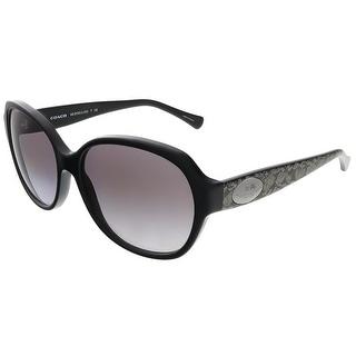 Coach HC8150 534611 Black/Whip Snake Frog Square sunglasses