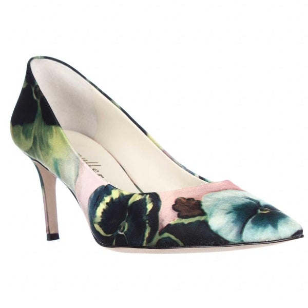 Bettye Muller Annie Pointed Toe Pumps, Pink Pansy