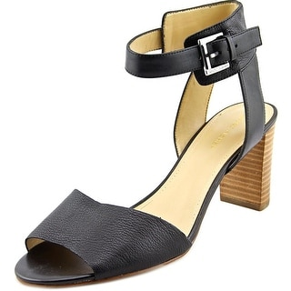 Marc Fisher Genette Women Open Toe Leather Sandals