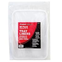 """Linzer RM4110 Tray Liners Polypropylene, 9"""", 10/Pack"""