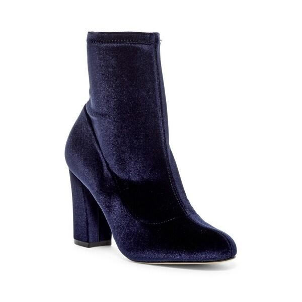 Madden Girl Womens Fantaysa Fabric Closed Toe Ankle Fashion Boots