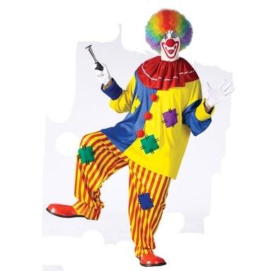 Shop Big Top Clown Funny Circus Joker Adult Halloween Costume