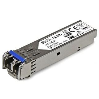 Startech J4859cst Lc Duplex 1000Base-Lx Sfp Network Transceiver Module, Silver